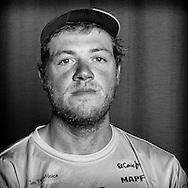 "PORTUGAL, Lisbon. 31st May 2012. Volvo Ocean Race, Leg 7 (Miami-Lisbon) finish. Antonio ""Neti"" Cuervas-Mons, Bowman, Team Telefonica."