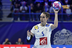 France player CAmille Ayglon during the Women's european handball chanmpionship preliminary round, Slovenia vs France. Nancy, Fance -02/12/2018//POLEMILE_01POL20181202NAN009/Credit:POL EMILE / SIPA/SIPA/1812021731