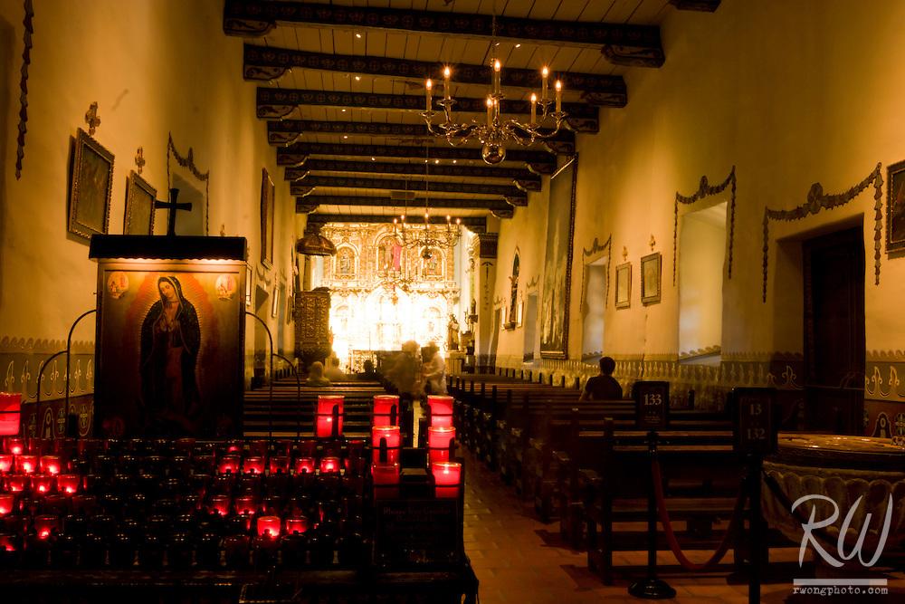 Serra Chapel, Mission San Juan Capistrano, California