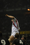 Twickenham. GREAT BRITAIN, Ben KAY, during  the 2006 Investec Challenge, game between, England  and New Zealand [All Blacks], on Sun., 05/11/2006, played at the Twickenham Stadium, England. Photo, Peter Spurrier/Intersport-images].....   [Mandatory Credit, Peter Spurier/ Intersport Images].