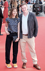 Edinburgh International Film Festival 2019<br /> <br /> Mrs Lowry And Son (World Premiere, closing night gala)<br /> <br /> Pictured: Kate Dickie and Kenny Christie<br /> <br /> Alex Todd | Edinburgh Elite media