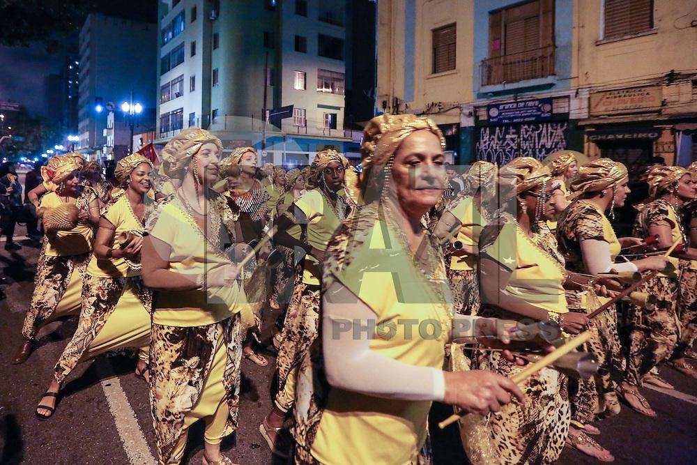 SAO PAULO, SP, 18 DE MAIO 2013 - VIRADA CULTURAL  - Cortejo é visto passando na Avenida Duque de Caxias na Virada Cultural 2013, na região central da capital paulista, na noite deste sábado 13. (FOTO: VANESSA CARVALHO / BRAZIL PHOTO PRESS)
