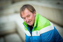 Portrait of Bojan Krizaj, former Slovenian Alpine Skier, on January 12, 2018 in Trzic, Slovenia. Photo by Vid Ponikvar / Sportida