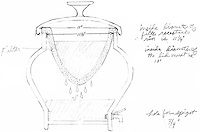 Prototype drawings of the filter with vessel.