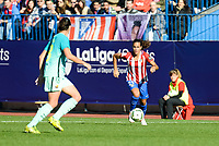 Atletico de Madrid Maria Bores during match of La Liga Femenina between Atletico de Madrid and FC Barcelona at Vicente Calderon Stadium in Madrid, Spain. December 11, 2016. (ALTERPHOTOS/BorjaB.Hojas)