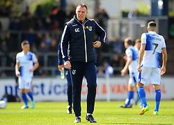 Bristol Rovers manager Graham Coughlan- Mandatory by-line: Nizaam Jones/JMP - 13/04/2019 - FOOTBALL - Memorial Stadium - Bristol, England - Bristol Rovers v Bradford City - Sky Bet League One
