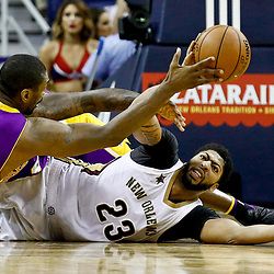 11-29-2016 Los Angeles Lakers at New Orleans Pelicans