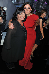 Left to right, DAWN FRENCH and DAVINA McCALL at the Glamour Women of The Year Awards 2011 held in Berkeley Square, London W1 on 7th June 2011.