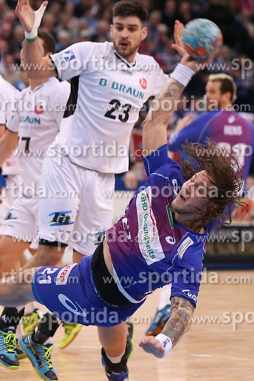 HANDBALL:  Germany 1. Bundesliga, Hamburg, 13.02.2014<br />