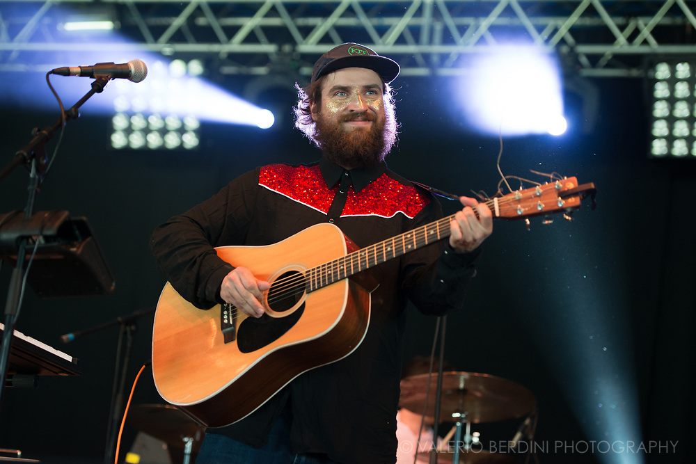 Johnny Lynch aka Pictish Trail live at Field Day London on 3 June 2017