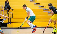 AMSTERDAM  - Thijs van Dam (R'dam) tijdens het starttoernooi zaalhockey in Sporthallen Zuid.    COPYRIGHT KOEN SUYK