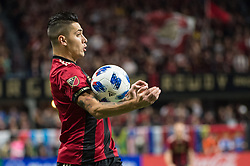 December 8, 2018 - Atlanta, Georgia, United States - Atlanta United defender FRANCO ESCOBAR (2) controls the ball during the MLS Cup at Mercedes-Benz Stadium in Atlanta, Georgia.  Atlanta United defeats Portland Timbers 2-0 (Credit Image: © Mark Smith/ZUMA Wire)