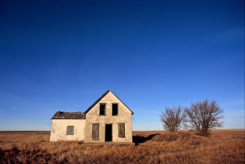 A old homestead on the plains of eastern Colorado