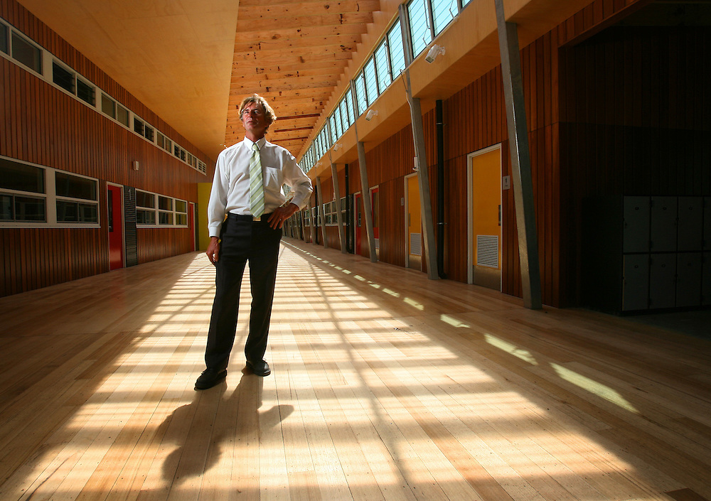 Principal of the new Williamstown Junior High School, Steve Cook  Pic By Craig Sillitoe  23/01/2008 melbourne photographers, commercial photographers, industrial photographers, corporate photographer, architectural photographers, This photograph can be used for non commercial uses with attribution. Credit: Craig Sillitoe Photography / http://www.csillitoe.com<br />