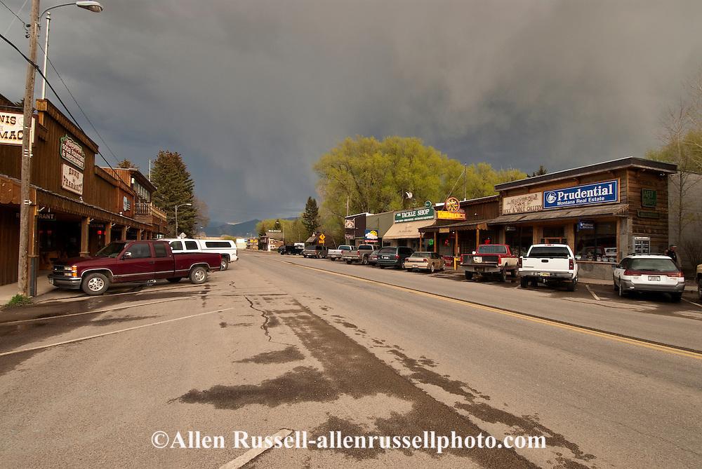 Ennis, Montana, Main Street