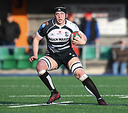 Pontypridds Sean Moore<br /> <br /> Photographer Mike Jones/Replay Images<br /> <br /> Principality Premiership Merthyr v Pontypridd - Saturday 17th February 2018 - The Wern Merthyr Tydfil<br /> <br /> World Copyright © Replay Images . All rights reserved. info@replayimages.co.uk - http://replayimages.co.uk