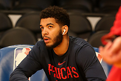 February 27, 2019 - Los Angeles, CA, U.S. - LOS ANGELES, CA - FEBRUARY 27: New Orleans Pelicans Forward Kenrich Williams (34) before the New Orleans Pelicans versus Los Angeles Lakers game on February 27, 2019, at Staples Center in Los Angeles, CA. (Photo by Icon Sportswire) (Credit Image: © Icon Sportswire/Icon SMI via ZUMA Press)