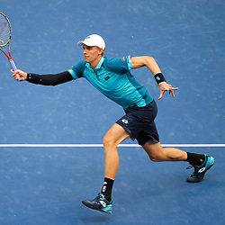 Kevin Anderson of South Africa during day 12 of the Us Open 2017 at USTA Billie Jean King National Tennis Center on September 8, 2017 in New York City. (Photo by Marek Janikowski/Icon Sport)