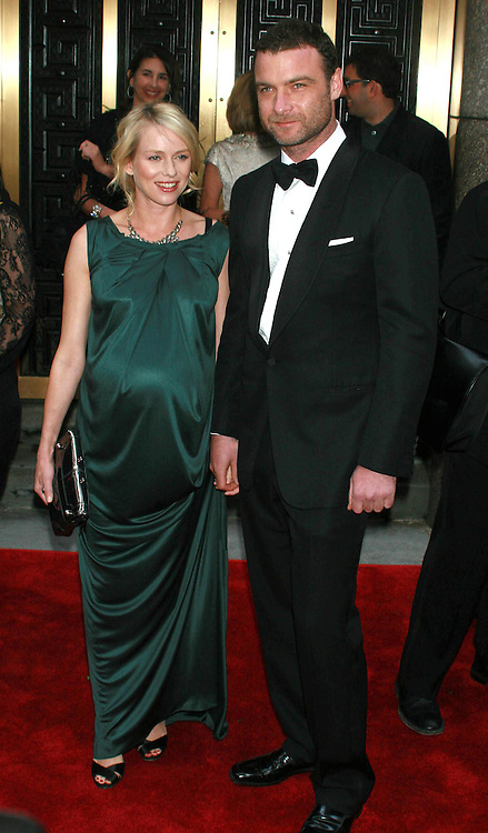 Naomi Watts and Liev Schreiber at the Tony Awards in New York.