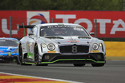 July 28, 2018 - Spa, Belgique - 8 BENTLEY TEAM M SPORT (GBR) BENTLEY CONTINENTAL GT3 PRO CUP ANDY SOUCEK (ESP) MAXIME SOULET (BEL) VINCENT ABRIL  (Credit Image: © Panoramic via ZUMA Press)