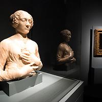 Foto Piero Cruciatti / LaPresse<br /> 14-04-2015 Milano, Italia<br /> Cultura<br /> Anteprima stampa della mostra &quot;Leonardo da Vinci 1452 - 1519&rdquo; a Palazzo Reale<br /> Nella Foto: 'Belle ferronni&egrave;re&rsquo; a destra<br /> <br /> Photo Piero Cruciatti / LaPresse<br /> 14-04-2015 Milan, Italy<br /> Cultura<br /> Press preivew of the exhibition &quot;Leonardo da Vinci 1452 - 1519&rdquo; at Palazzo Reale <br /> In the Photo: 'Belle ferronni&egrave;re&rsquo; a destra