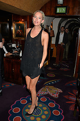 The HON.SOPHIA HESKETH at a dinner to celebrate the launch of Genetic - Liberty Ross hosted by Liberty Ross and Ali Fatourechi at Annabel's, 44 Berkeley Square, London on 3rd September 2014.