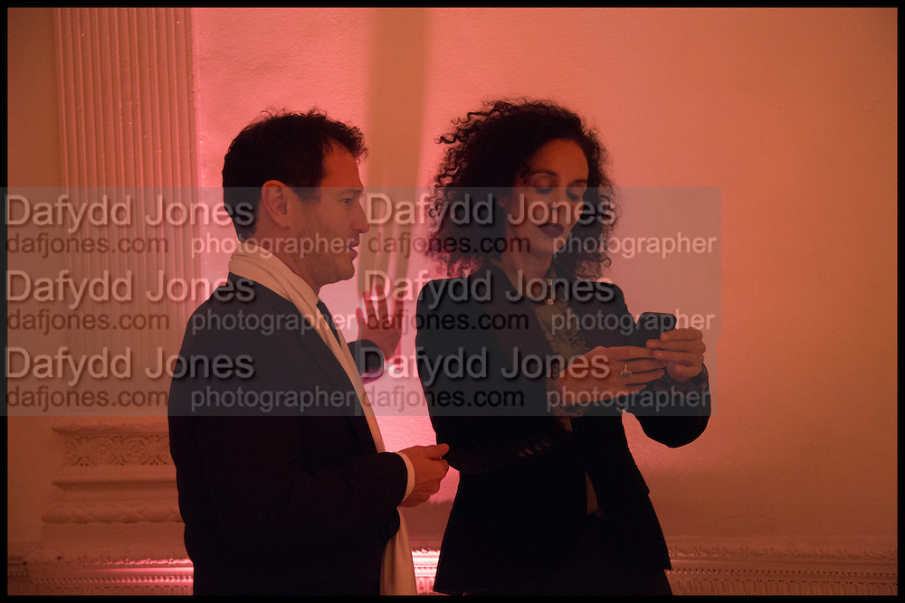 NICK MORAN; JEANETTE CALLIVA, White By Agadir -  launch party <br /> to promote the Moroccan resort of Agadir , Il Bottaccio, 9 Grosvenor Place, London, 4 November 2014