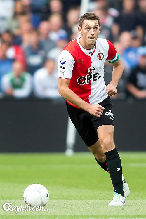 ROTTERDAM - Feyenoord - Roda JC , Eredivisie , 01-09-2013 , Voetbal , Seizoen 2013-2014 , Stadion de Kuip , Speler van Feyenoord Stefan de Vrij