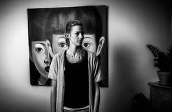 03-06-2016 NED: Portret Debby Pilon-Stam, Haarlem<br /> Portret en de hobby's van Debby Pilon-Stam in haar woonhuis te Haarlem