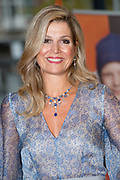 Koningin Máxima aanwezig bij benefietgaladiner Prinses Máxima Centrum in het Concertgebouw Amsterdam<br /> <br /> Queen Máxima attends at beneficial gala dinnerfor the  Princess Máxima Center in the Concertgebouw Amsterdam<br /> <br /> Op de foto / On the photo:  Aankomst Koningin Maxima / Arrival Queen Maxima