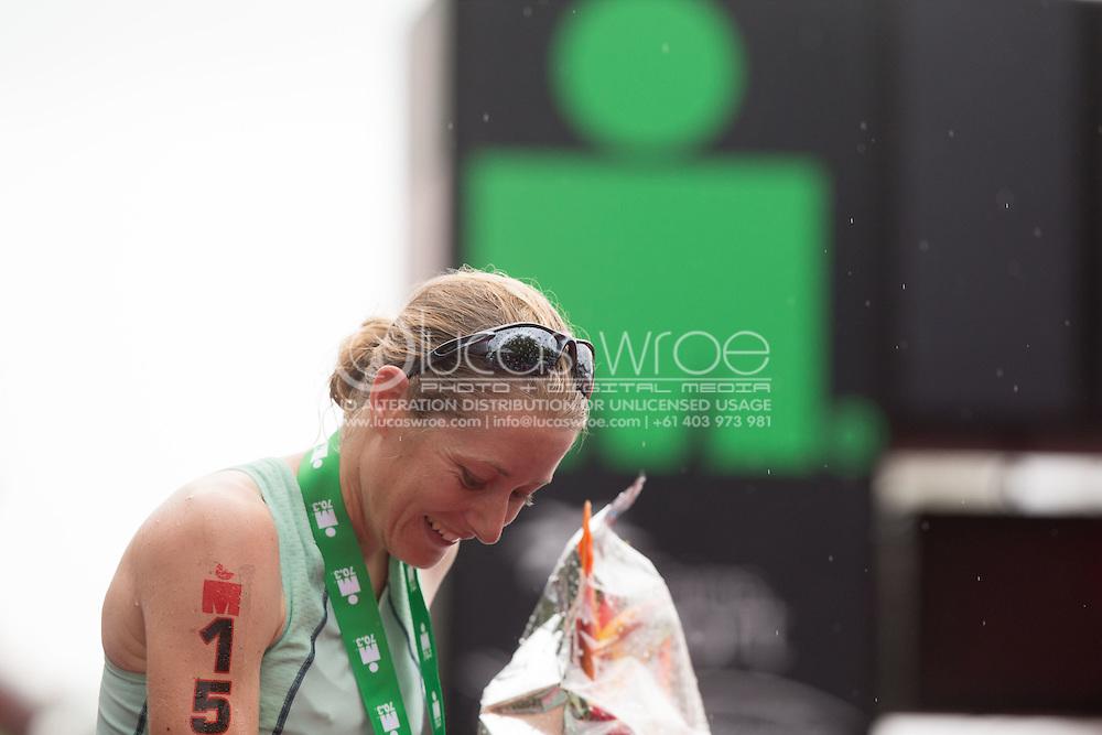 Candice Hammond (NZL), June 8, 2014 - TRIATHLON : Ironman Cairns 70.3 / Cairns Airport Adventure Festival, Palm Cove - Captain Cook Highway - Cairns Esplanade, Cairns, Queensland, Australia. Credit: Lucas Wroe