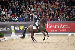 Reynolds Judy, (IRL), Vancouver K<br /> FEI World Cup Dressage Grand Prix Freestyle<br /> FEI World Cup Neumünster - VR Classics 2017<br /> © Hippo Foto - Stefan Lafrentz