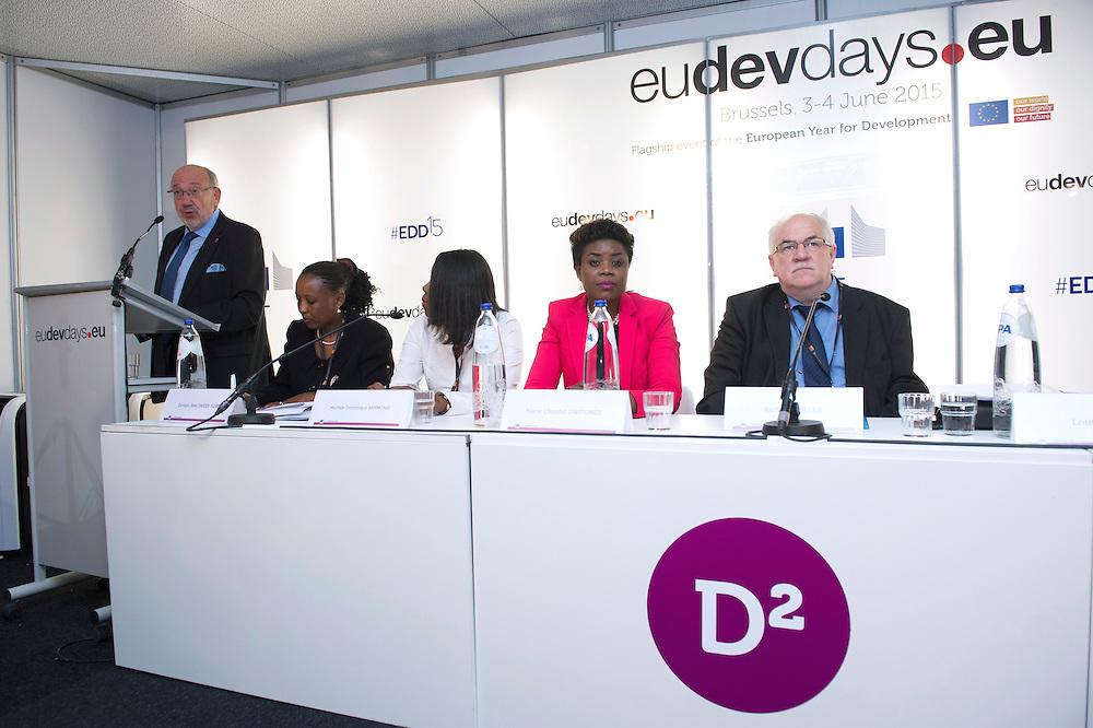 03 June 2015 - Belgium - Brussels - European Development Days - EDD - Citizenship - Culture - The forgotten lifeblood of development © European Union