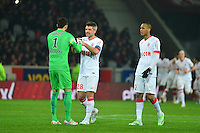 Joie Monaco / Danijel SUBASIC / Jeremy TOULALAN / FABINHO  - 24.01.2015 - Lille / Monaco - 22eme journee de Ligue1<br />Photo : Dave Winter / Icon Sport