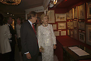 Princess Alexandra and William Drummond. The opening  day of the Grosvenor House Art and Antiques Fair.  Grosvenor House. Park Lane. London. 14 June 2006. ONE TIME USE ONLY - DO NOT ARCHIVE  © Copyright Photograph by Dafydd Jones 66 Stockwell Park Rd. London SW9 0DA Tel 020 7733 0108 www.dafjones.com