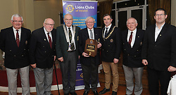 Michael Moran former President of Westport Lions Club was honoured last week with the Melvin Jones Fellowship award in recognition of his years of service and dedication to Westport Lions Club.<br />