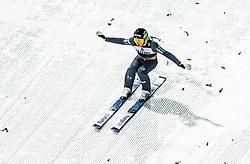 01.02.2019, Heini Klopfer Skiflugschanze, Oberstdorf, GER, FIS Weltcup Skiflug, Oberstdorf, im Bild Timi Zajc (SLO) // Timi Zajc of Slovenia during the FIS Ski Jumping World Cup at the Heini Klopfer Skiflugschanze in Oberstdorf, Germany on 2019/02/01. EXPA Pictures © 2019, PhotoCredit: EXPA/ JFK