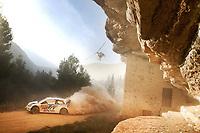 Andreas Mikkelsen (NOR) - Ola Floene (NOR)-Volkswagen Polo WRC