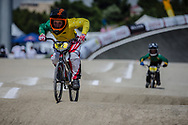 9 Boys #82 (VAUGHAN Fraser) AUS at the 2018 UCI BMX World Championships in Baku, Azerbaijan.