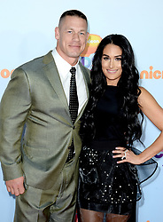 John Cena, Nikki Bella attend the Nickelodeon's 2017 Kids' Choice Awards at USC Galen Center on March 11, 2017 in Los Angeles, California. Photo by Lionel Hahn/ABACAUSA.COM