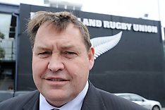 Wellington-Steve Hansen appointed as new All Black Coach