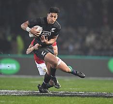 Rotorua-International Rugby, New Zealand Maori All Blacks v Lions
