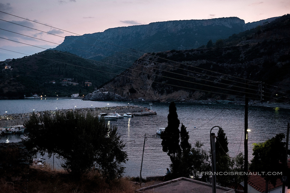 Sampatiki, Péloponnèse, Grèce.