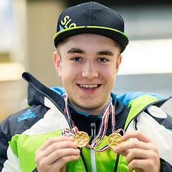 20180303: SLO, Alpine Ski - Departure of Jernej Slivnik to Paralympic Games in Pyeongchang
