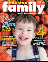 Houston Family Cover July 2009