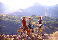 mountain biking at Deer Valley Resort, Park City, UT USA