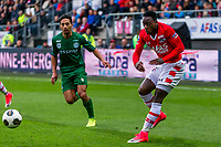 ALKMAAR - 01-04-2017, AZ - FC Groningen, AFAS Stadion, AZ speler Ridgeciano Haps