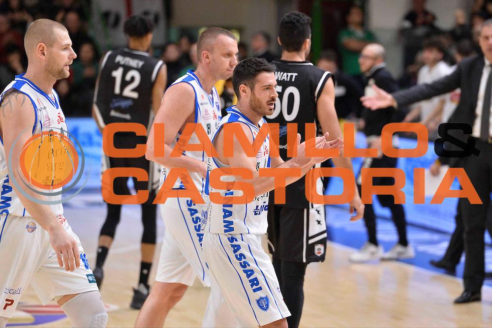 SASSARI 08 GENNAIO 2017<br /> LegaBasket Serie A 2016/2017<br /> Dinamo Banco di Sardegna Sassari - Pasta Reggia Juve Caserta<br /> NELLA FOTO Lorenzo D'Ercole<br /> FOTO CIAMILLO