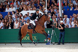 Staut Kevin, FRA, For Joy van't Zorgvliet Hdc<br /> Rolex Grand Prix CSI 5* - Knokke 2017<br /> © Hippo Foto - Dirk Caremans<br /> 09/07/17