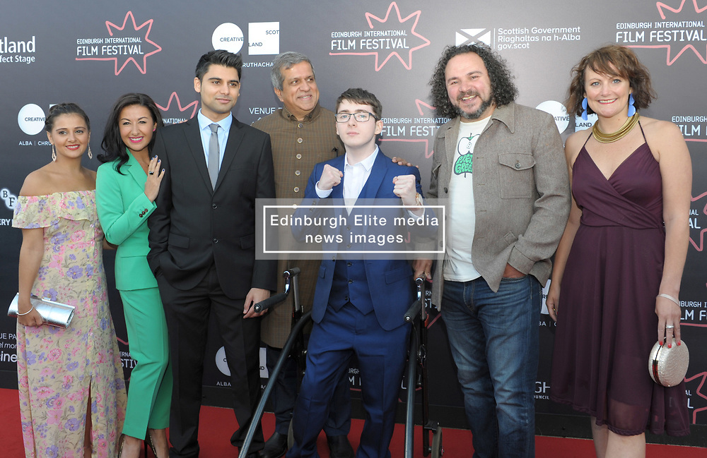 Edinburgh International Film Festival, Thursday, 21st June 2018<br /> <br /> 'EATEN BY LIONS' World Premiere<br /> <br /> Pictured: Cast and crew<br /> <br /> (c) Aimee Todd | Edinburgh Elite media